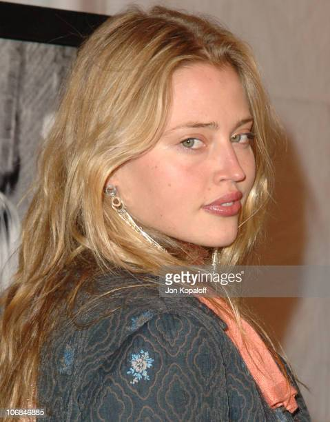 Estella Warren during The Motion Picture Television Fund Presents a Special Screening of 'Walk The Line' Arrivals at Academy of Motion Picture Arts...