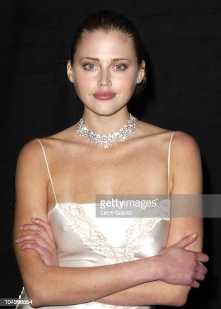 Estella Warren during Women's Wear Daily The Ultimate Fashion Authority Hosted 'White Hot Diamonds' The Exclusive PreOscar Fashion Event Where...