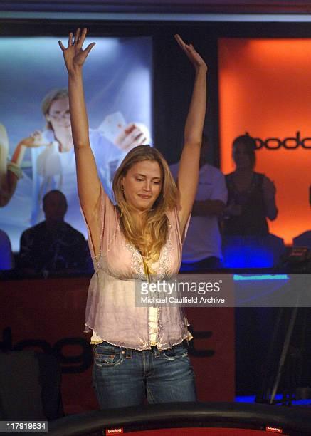Estella Warren wins the bodognet Celebrity Salute to the Troops Poker Tournament