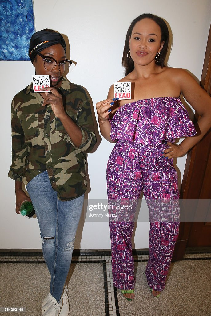 Estelle and Elle Varner attend the 2nd Annual Black Girls Lead Conference at Barnard College on July 28 2016 in New York City
