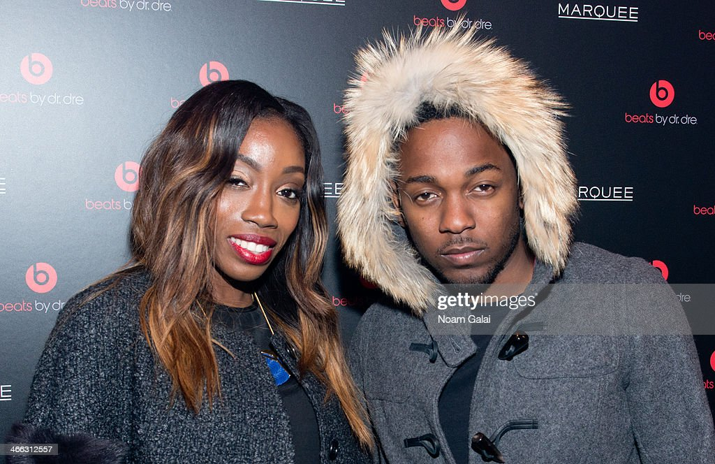 Estelle and <a gi-track='captionPersonalityLinkClicked' href=/galleries/search?phrase=Kendrick+Lamar&family=editorial&specificpeople=8012417 ng-click='$event.stopPropagation()'>Kendrick Lamar</a> attend Beats By Dr. Dre special event At Marquee New York on January 31, 2014 in New York City.