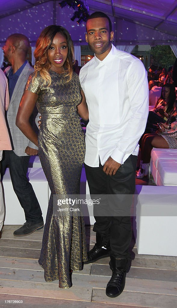 Estelle and Mario attend the 2nd annual Compound Foundation Fostering A Legacy Benefit on August 17, 2013 in East Hampton, New York.