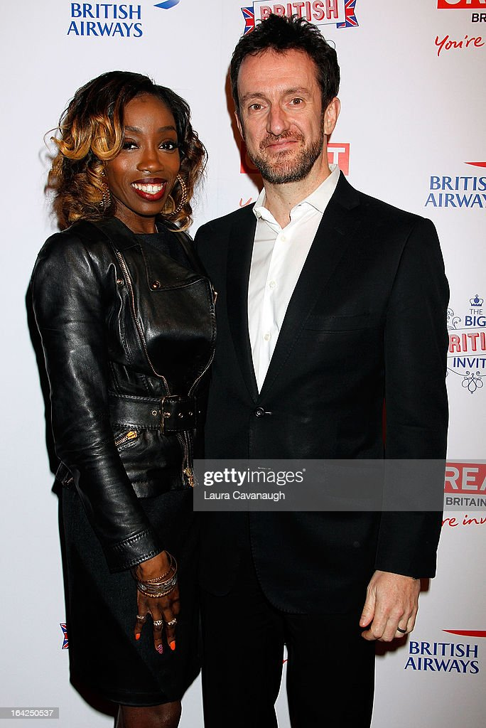 <a gi-track='captionPersonalityLinkClicked' href=/galleries/search?phrase=Estelle+-+Singer&family=editorial&specificpeople=206205 ng-click='$event.stopPropagation()'>Estelle</a> and Simon Talling-Smith attend The Big British Invite at 78 Mercer Street on March 21, 2013 in New York City.