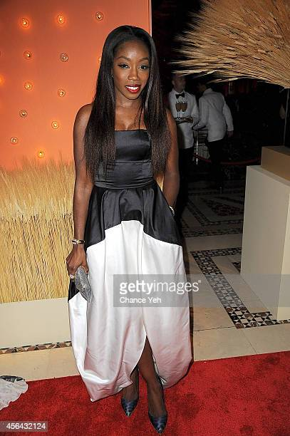 Estelle attends 15th Annual New Yorkers For Children Gala at Cipriani 42nd Street on September 30 2014 in New York City