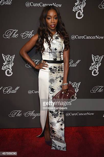 Estelle attends Angel Ball 2014 hosted by Gabrielle's Angel Foundation at Cipriani Wall Street on October 20 2014 in New York City