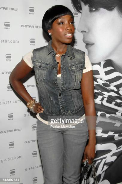 Estelle attends GSTAR RAW Presents NY RAW Fall/Winter 2010 Collection Arrivals at Hammerstein Ballroom on February 16 2010 in New York City