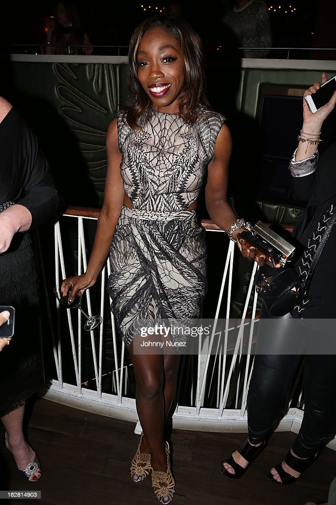 Estelle attends Kevin Liles' 45th Birthday Party at The Rec Room on February 27, 2013 in New York City.