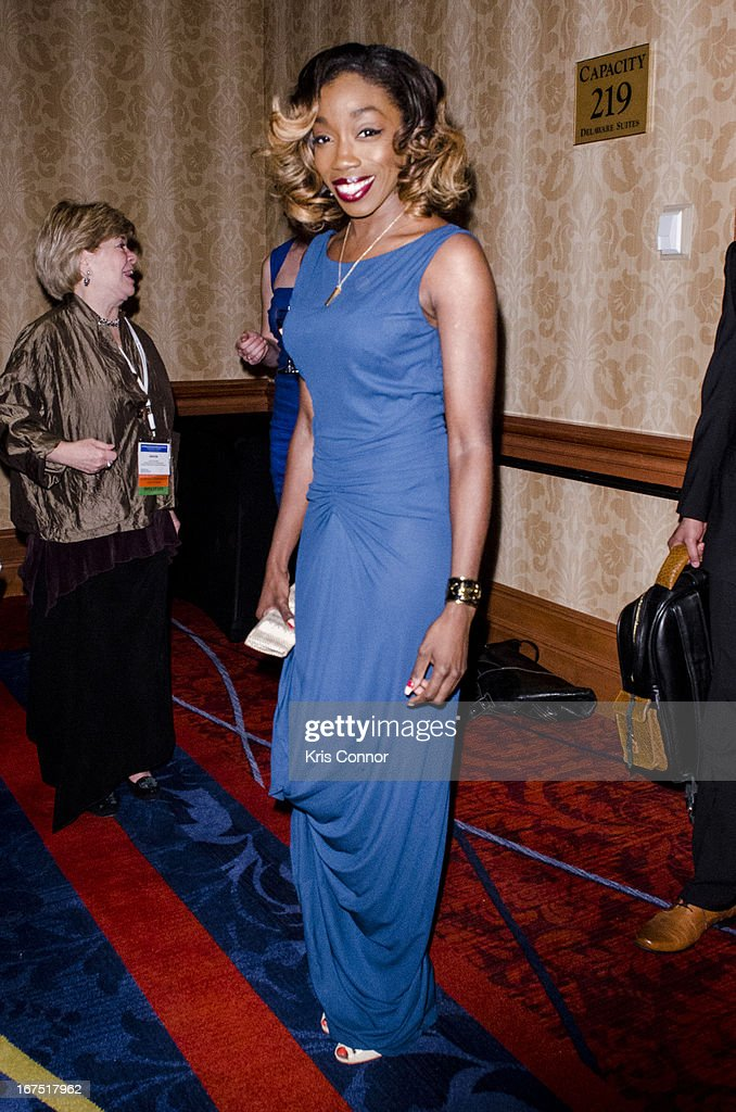Estelle attends Planned Parenthood Federation of America's VIP Reception at the Marriott Wardman Park Hotel on April 25, 2013 in Washington, DC.