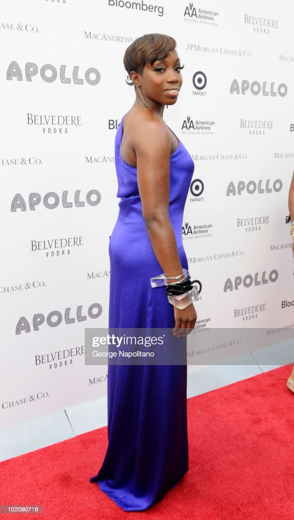 Estelle attends the 2010 Apollo Theater Spring Benefit Concert Awards Ceremony at The Apollo Theater on June 14 2010 in New York City