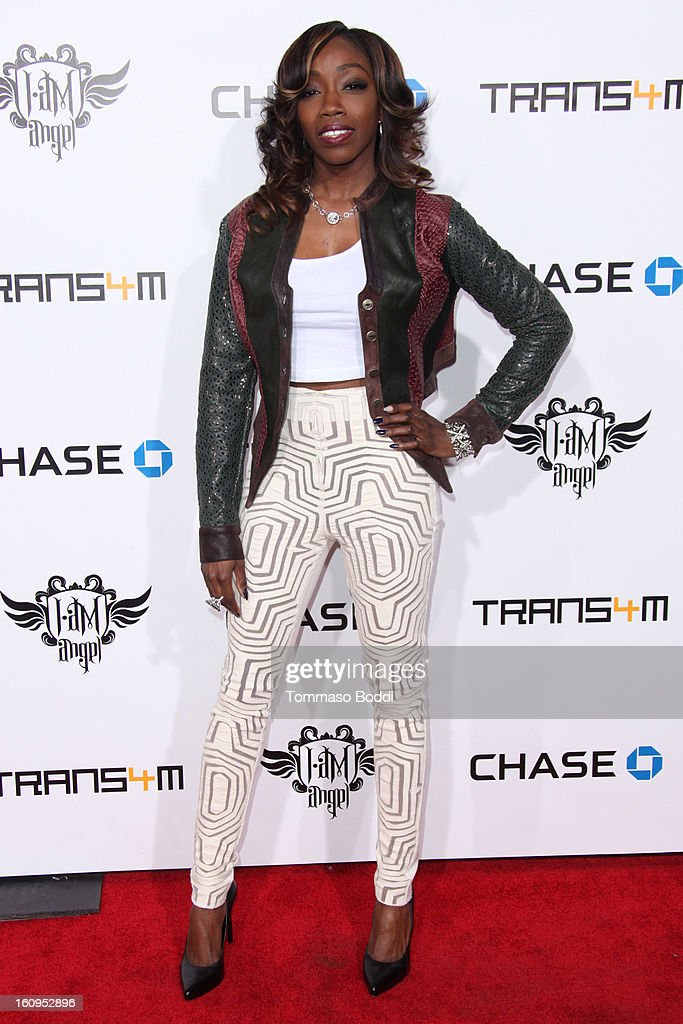 Estelle attends the 2nd Annual Will.i.am TRANS4M Boyle Heights benefit concert held at Avalon on February 7, 2013 in Hollywood, California.