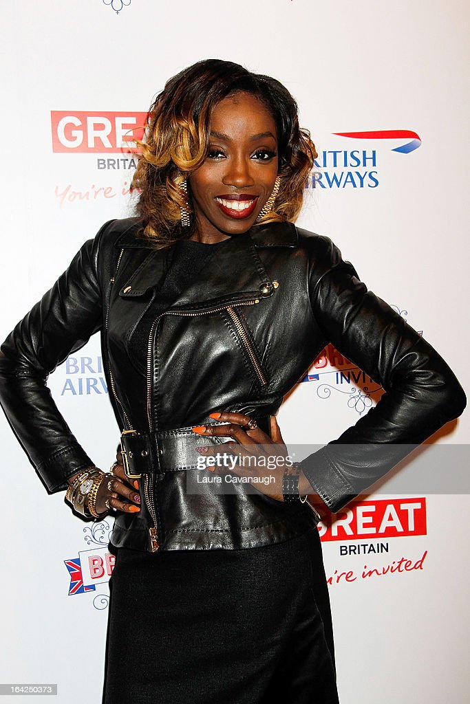 Estelle attends The Big British Invite at 78 Mercer Street on March 21, 2013 in New York City.