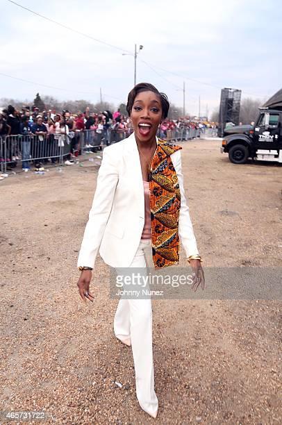 Estelle attends the Centric Celebrates Selma event on March 8 in Selma Alabama
