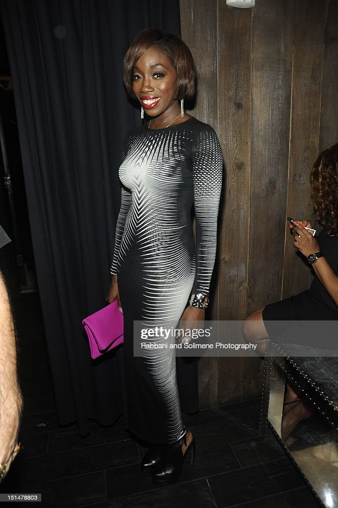 Estelle attends the Destination Iman Website Launch Party at Dream Downtown on September 7, 2012 in New York City.
