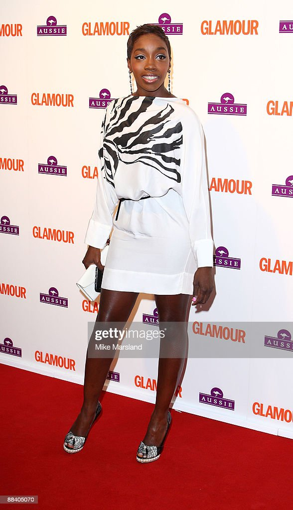 Estelle attends the Glamour Women of the Year Awards at Berkeley Square Gardens on June 2, 2009 in London, England.