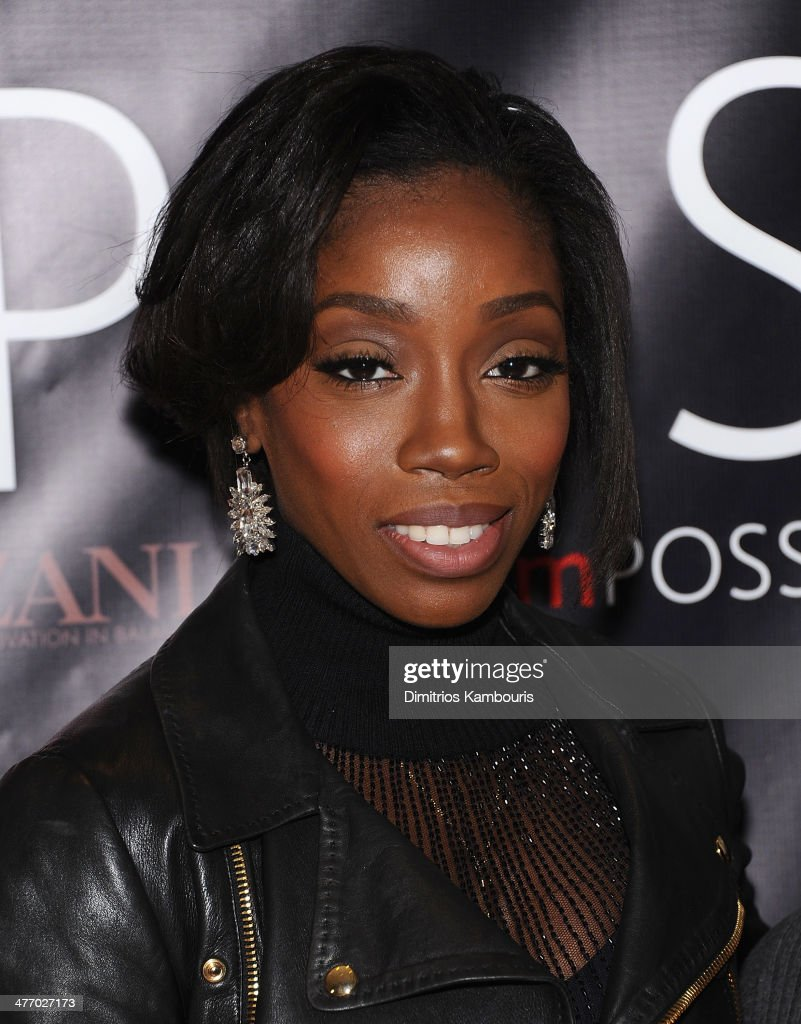 Estelle attends the Inaugural New York 'I'mPOSSIBLE Conversation' Event at L'Oreal Soho Academy on March 6, 2014 in New York City.