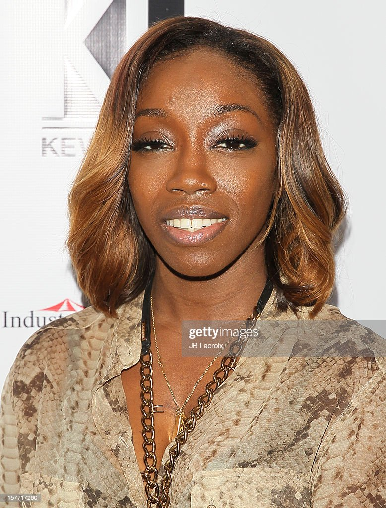 Estelle attends the Kevan Hall Presents His Spring 2013 Collection on December 5, 2012 in Los Angeles, California.