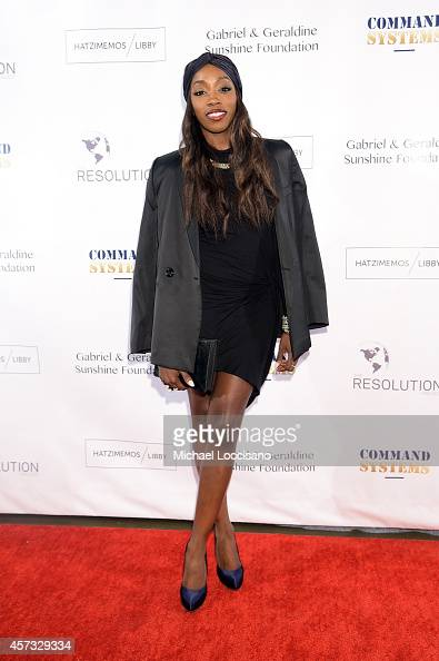 Estelle attends The Resolution Project's Resolve 2014 Gala at The Harvard Club on October 16 2014 in New York City