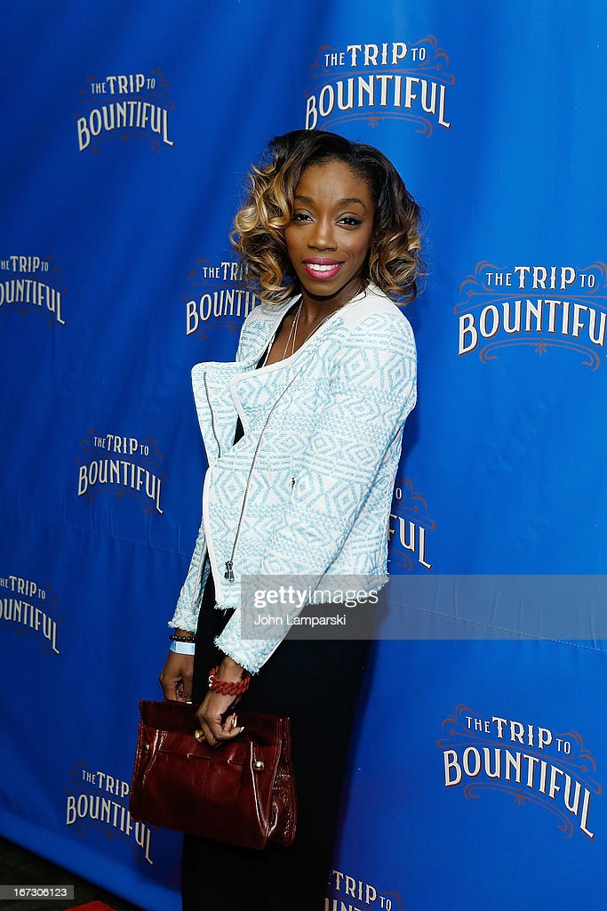 Estelle attends the 'The Trip To Bountiful' Broadway Opening Night after party at Copacabana on April 23, 2013 in New York City.