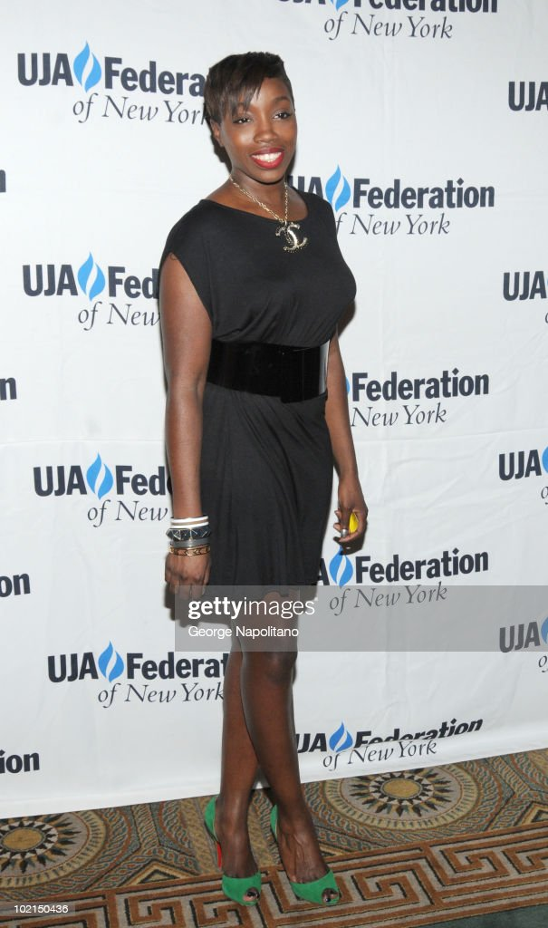 Estelle attends the UJA-Federation's 2010 Music Visionary of the Year award luncheon at The Pierre Ballroom on June 16, 2010 in New York City.