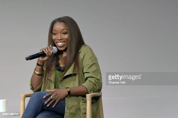 Estelle attends Today at Apple at the SoHo Apple Store on May 20 2017 in New York City