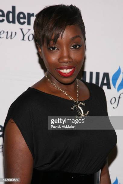 Estelle attends UJAFEDERATION OF NEW YORK honors JULIE GREENWALD and CRAIG KALLMAN with The Music Visionary of the Year Award at The Pierre on June...