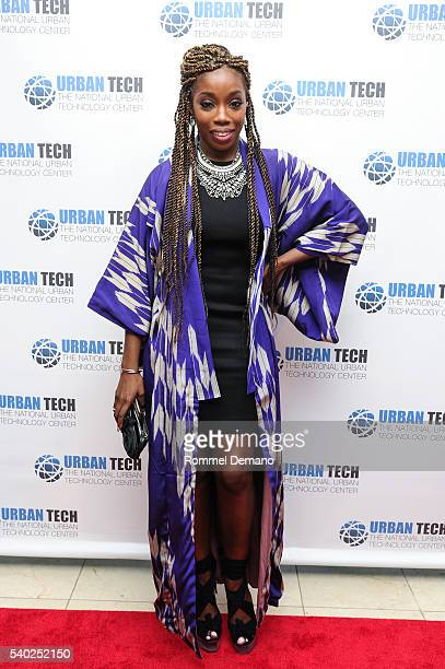 Estelle attends Urban Tech 2016 Gala Awards Dinner at Gustavino's on June 14 2016 in New York City