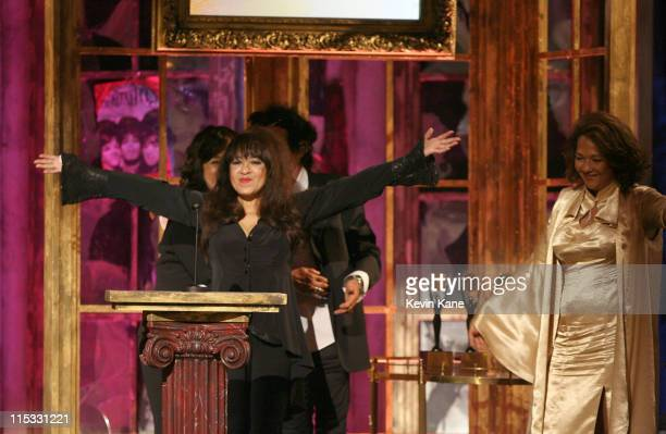 Estelle Bennett Ronnie Spector and Nedra Talley of The Ronettes inductees