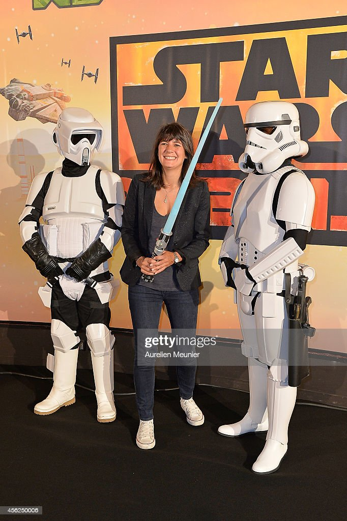 'XD Star Wars Rebels' Paris Premiere At Gaumont Champs Elysees