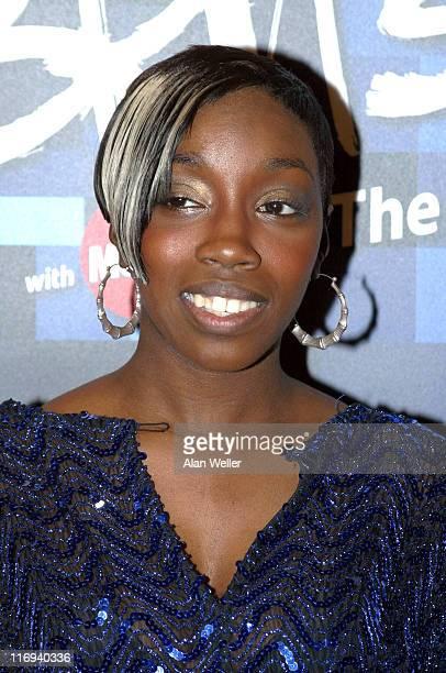 Estelle during BRIT Awards 2005 Nominations Arrivals at Park Lane Hotel in Piccadilly West London United Kingdom