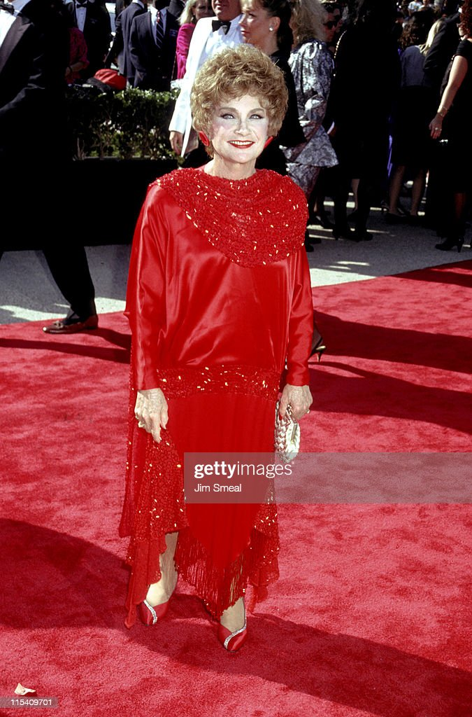 <a gi-track='captionPersonalityLinkClicked' href=/galleries/search?phrase=Estelle+Getty&family=editorial&specificpeople=1186659 ng-click='$event.stopPropagation()'>Estelle Getty</a> during 42nd Annual Emmy Awards at Pasadena Civic Auditorium in Pasadena, California, United States.
