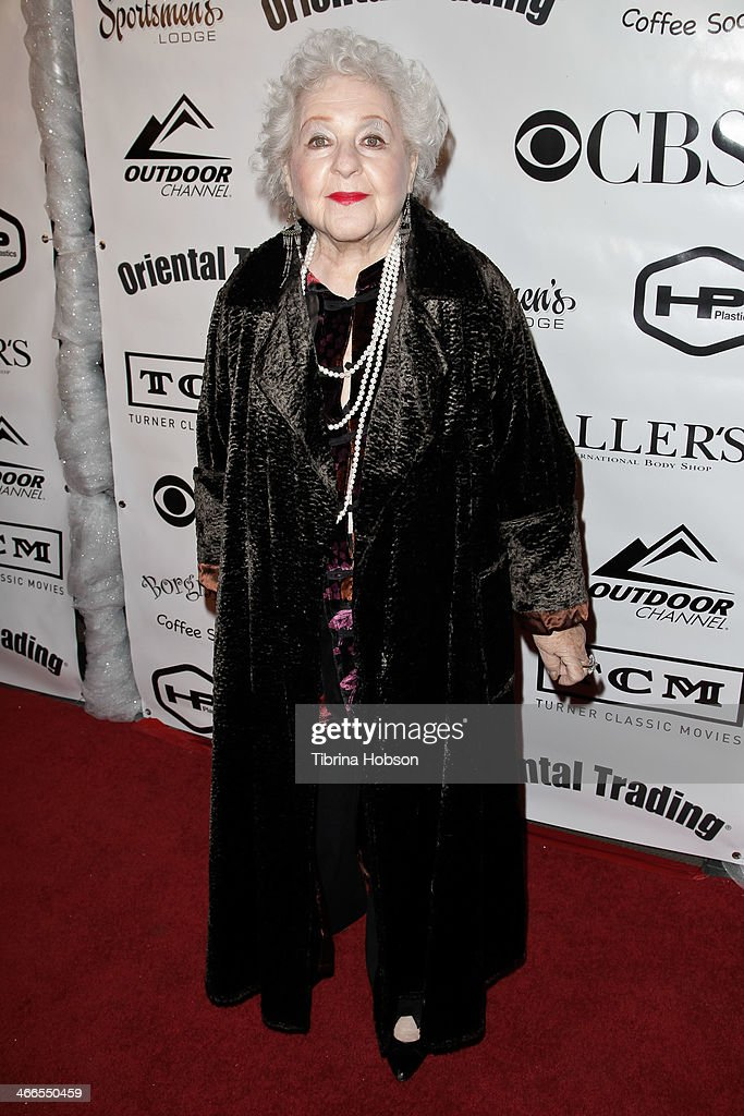 Estelle Harris attends the 2nd annual Borgnine movie star gala honoring actor Joe Mantegna at Sportman's Lodge on February 1, 2014 in Studio City, California.