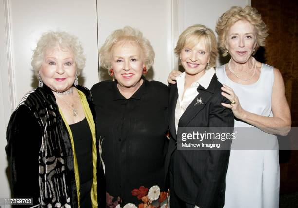 Estelle Harris Doris Roberts Florence Henderson and Holland Taylor