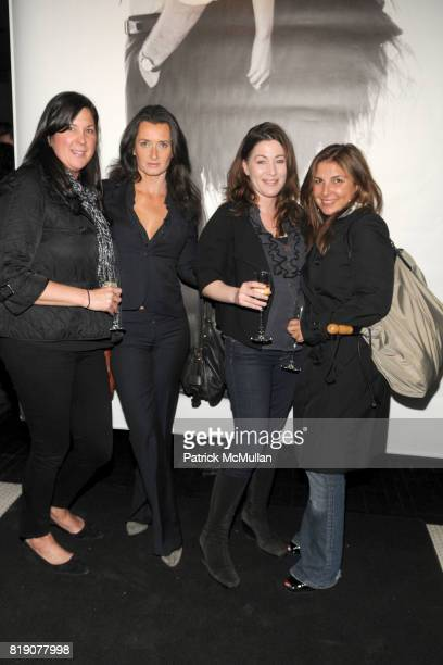 Estelle Leeds Doreen McKinney and Vanessa Gringer attend CLUB MONACO Celebrates Photographer BERT STERN at Club Monaco on March 25 2010 in New York...