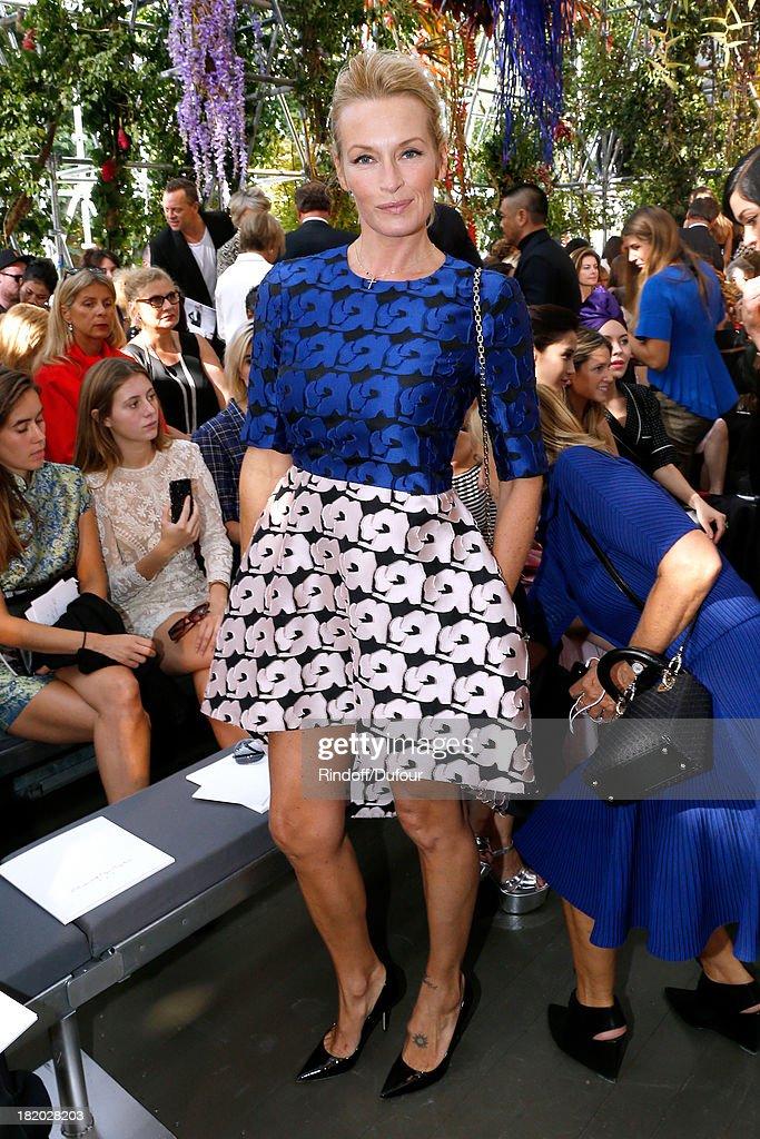 Christian Dior  : Front Row - Paris Fashion Week Womenswear  Spring/Summer 2014