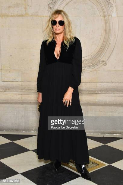 Estelle Lefebure attends the Christian Dior show as part of the Paris Fashion Week Womenswear Spring/Summer 2018 on September 26 2017 in Paris France