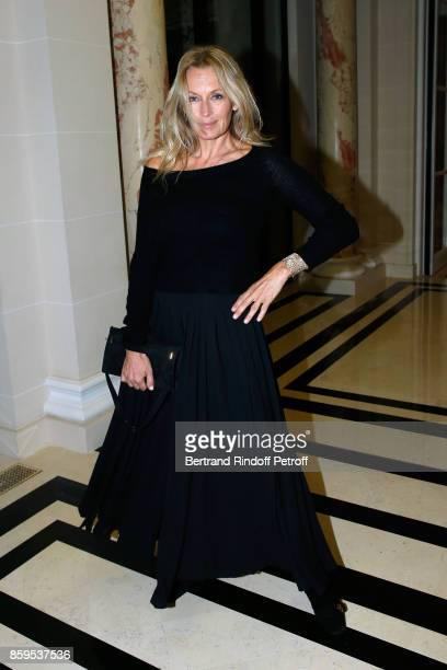 Estelle Lefebure attends the 'Diner des Amis de Care' at Hotel Peninsula Paris on October 9 2017 in Paris France