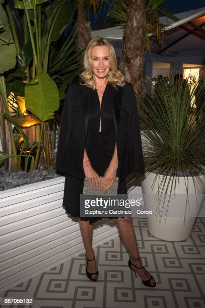 Estelle Lefebure attends The Harmonist Party during the 70th annual Cannes Film Festival at on May 22 2017 in Cannes France