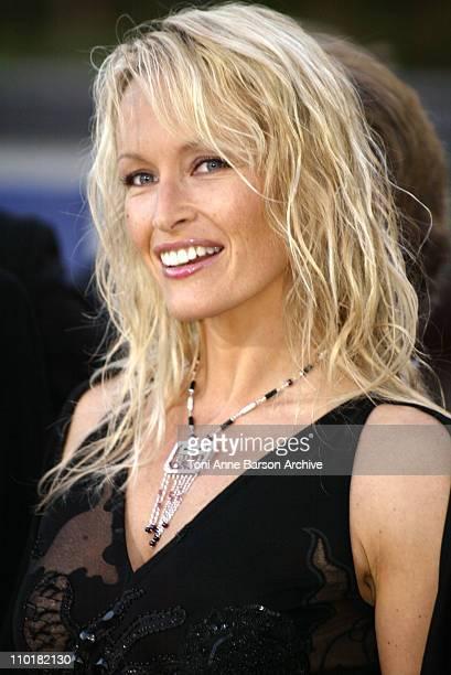 Estelle Lefebure during 2003 Laureus World Sports Awards Arrivals at Grimaldi Forum in Monte Carlo Monaco