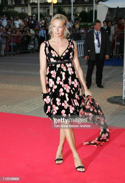 Estelle Lefebure during 31st American Film Festival of Deauville Tribute to Robert Towne and 'The Ice Harvest' Premiere at CID in Deauville France