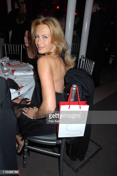 Estelle Lefebure during Sidaction 2007 Auction Dinner Against AIDS January 25 2007 at Pavillon D Armenonvillle in Paris France