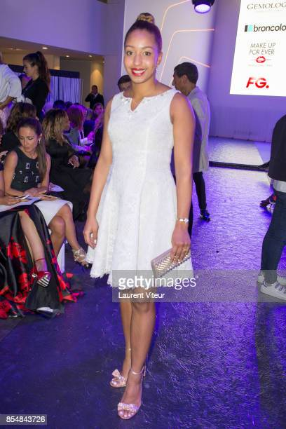 Estelle Mossely attends the Christophe Guillarme show as part of the Paris Fashion Week Womenswear Spring/Summer 2018 on September 27 2017 in Paris...
