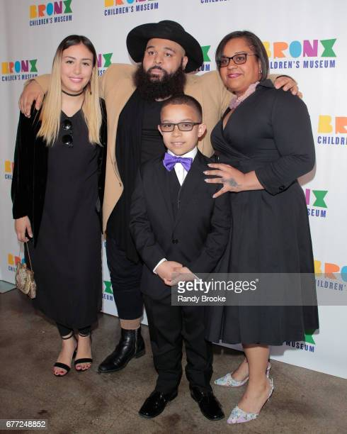 Estelle Nigaglioni Luss Nigaglioni Angel Rodriguez and Sheila Castellano attend the 2017 The Bronx Children's Museum Gala at Tribeca Rooftop on May 2...