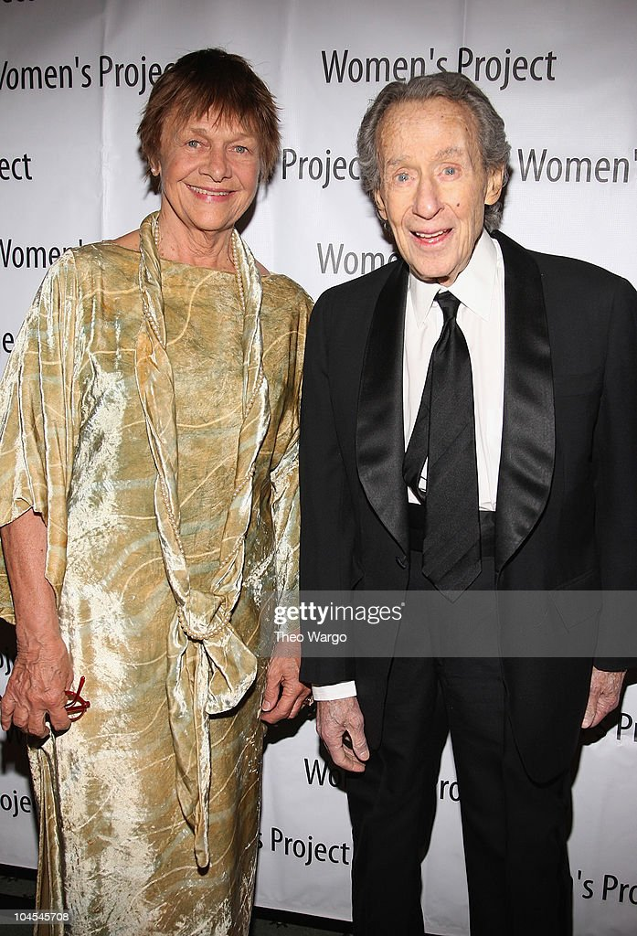 Estelle Parsons and Arthur Penn attend the 24th annual Women's Project gala at the Pierre Hotel on March 2 2009 in New York City