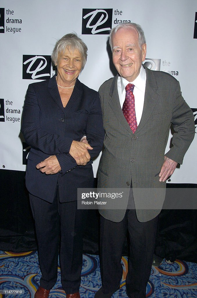<a gi-track='captionPersonalityLinkClicked' href=/galleries/search?phrase=Estelle+Parsons&family=editorial&specificpeople=221565 ng-click='$event.stopPropagation()'>Estelle Parsons</a> and <a gi-track='captionPersonalityLinkClicked' href=/galleries/search?phrase=Horton+Foote&family=editorial&specificpeople=623733 ng-click='$event.stopPropagation()'>Horton Foote</a> during The 71st Annual Drama League Awards - Arrivals at Marriott Marquis Hotel in New York City, New York, United States.