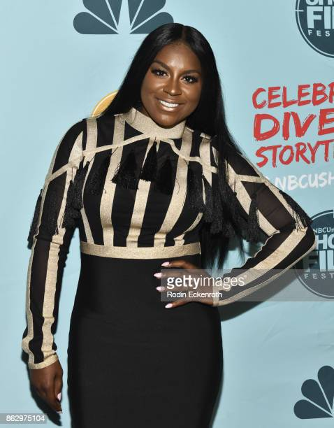 Ester Dean attends the 12th Annual NBCUniversal Short Film Festival Finale Screening at Directors Guild Of America on October 18 2017 in Los Angeles...