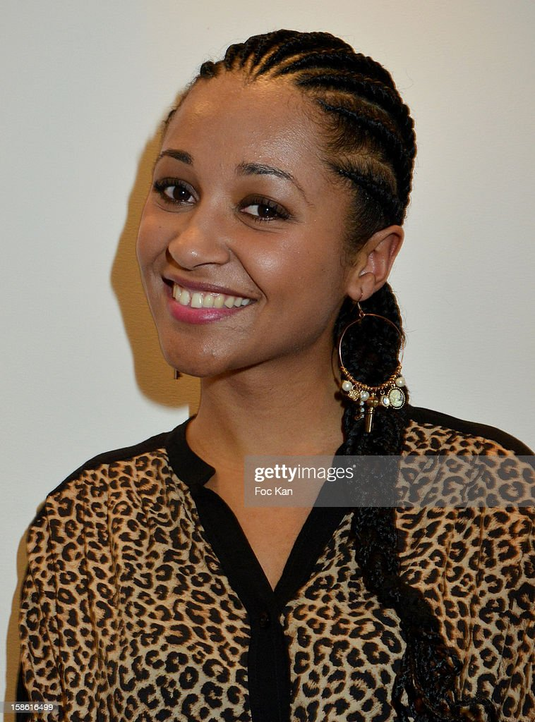 Esthele Dumand attends the 'Starter TV' Launch Party at Espace Brey on December 20, 2012 in Paris, France.