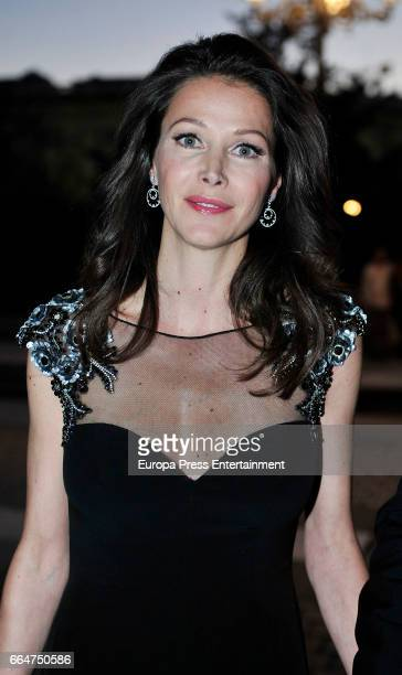 Esther Doña attends the Global Gift Gala 2017 at Royal Theatre on April 4 2017 in Madrid Spain