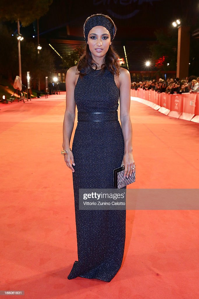 Esther Elisha attends the 'Take Five' Premiere during The 8th Rome Film Festival at Auditorium Parco Della Musica on November 14, 2013 in Rome, Italy.