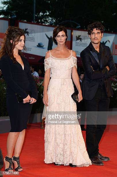 Esther Garrel Anna Mouglalis and Louis Garrel attend the 'Jealousy' Premiere during the 70th Venice International Film Festival at the Palazzo del...