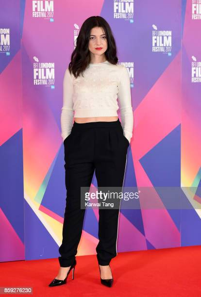 Esther Garrel attends a photocall for 'Call Me By Your Name' during the 61st BFI London Film Festival at the May Fair Hotel on October 9 2017 in...